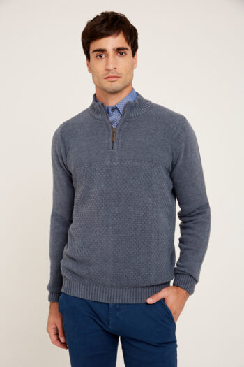 OUTLET Sweaters Media polera lisa