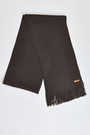 Bufanda lisa de acrilico