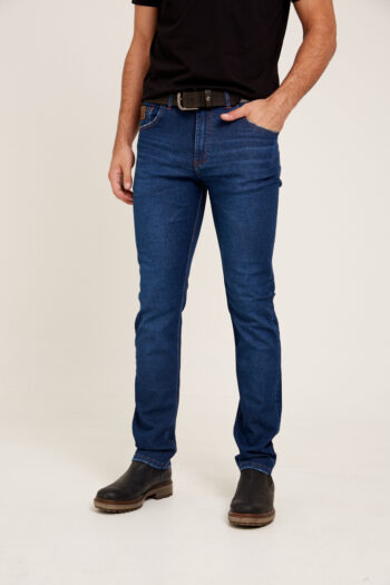 Jean regular fit azul
