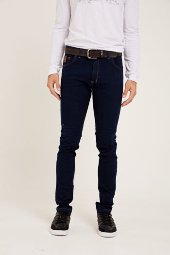 Jean slim fit blue denim