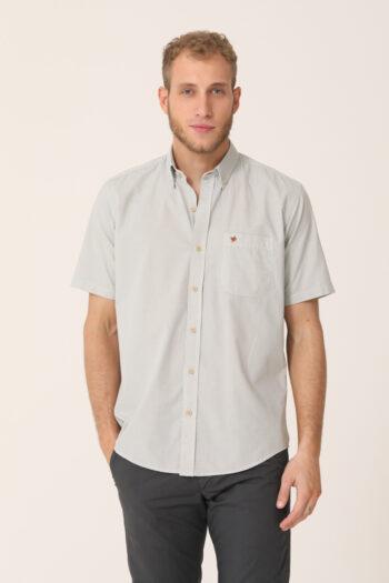 Camisa a rayas regular fit