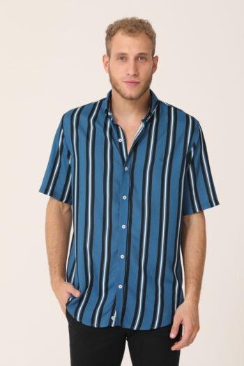 Camisa rayas slim plus fit